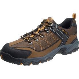 男性用スニーカー 防水設計 ウィンブルドンM046WS 紳士靴 メンズ (ブラウン)