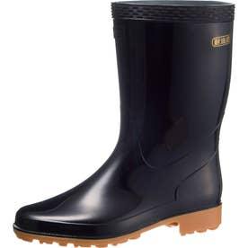 男女兼用 長靴 雨靴 レインシューズ クリーンセーフ300 (ブラック)