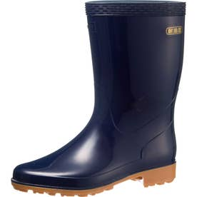 男女兼用 長靴 雨靴 レインシューズ クリーンセーフ300 (ネイビー)