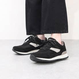女性用スニーカー  ウィンブルドン L041 (ブラック) レディース 婦人靴