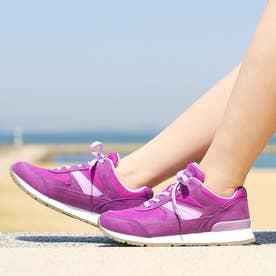 女性用スニーカー ウィンブルドン L041 (バイオレット) レディース 婦人靴