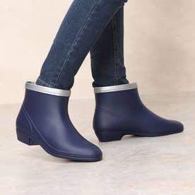 女性用 長靴 雨靴 レインシューズ R308 (ネイビー) 婦人靴 レディース