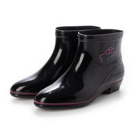 ハローキティ R103 (ブラック)女性用 レディース 婦人靴 長靴 雨靴 レインシューズ