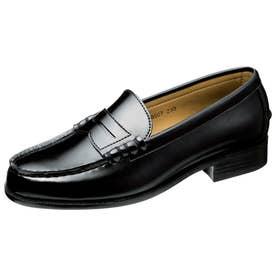 女性向けローファー ローレンスアカデミー LA8607 婦人靴 レディース (ブラック)