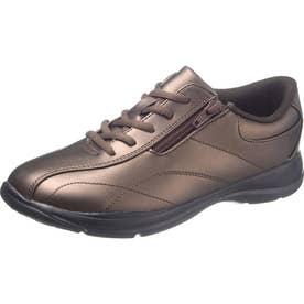 女性用スニーカー アサヒL511 婦人靴 レディース (ブロンズ)