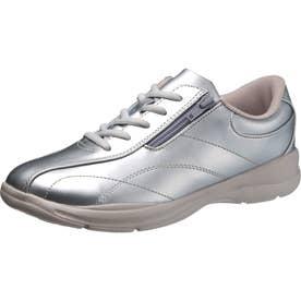 女性用スニーカー アサヒL511 婦人靴 レディース (シルバー)
