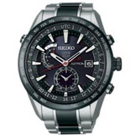SEIKO ソーラーGPS衛星電波修正 サファイアガラス スーパークリア コーティング セラミックベゼル・バンド メンズ 腕時計 SBXA015【返品不可商品】