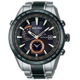 SEIKO ソーラーGPS衛星電波修正 サファイアガラス スーパークリア コーティング セラミックベゼル・バンド メンズ 腕時計 SBXA017【返品不可商品】