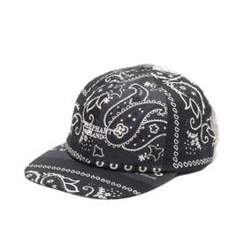 x ELEPHANT BRAND BANDANA 6 PANEL CAP (BLACK)
