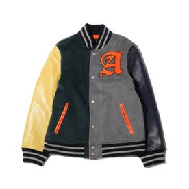 MULTI VARSITY JACKET (GREEN)
