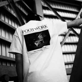 ARTIS FOOTWORK TEE (WHITE)