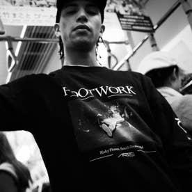 ARTIS FOOTWORK LS TEE (BLACK)