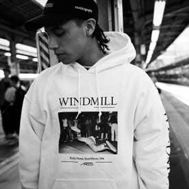 ARTIS WINDMILL HOODIE (WHITE)