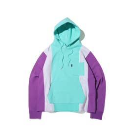 5PANEL SWEAT HOODIE (PURPLE)