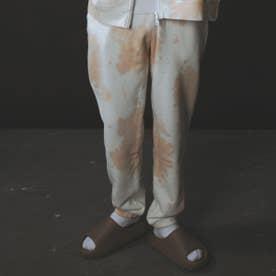 TIE-DYE SWEAT PANTS (ORANGE)