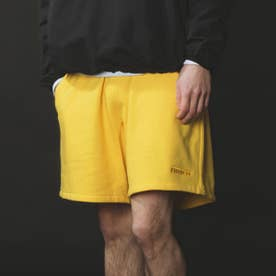 SWEAT SARROUEL SHORT (YELLOW)