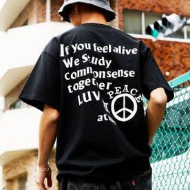 LUV & PEACE TEE (BLACK)