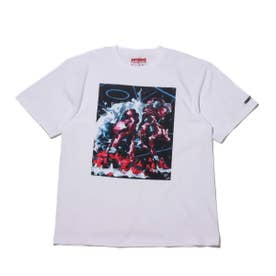 FRONT OF WALL WOOD × PROPS Management S/S TEE (WHITE)