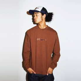 EMBROIDERY LOGO LS TEE (BROWN)