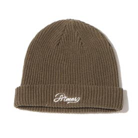 EMBROIDERY LOGO WATCH CAP (OLIVE)