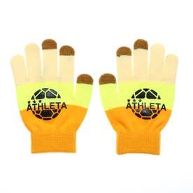 ジュニア サッカー/フットサル 防寒手袋 フィールドニットグローブ 05251J