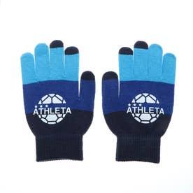 メンズ サッカー/フットサル 防寒手袋 フィールドニットグローブ 05251