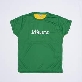 ジュニア サッカー/フットサル 半袖シャツ プラクティスTシャツ 02344J (グリーン)