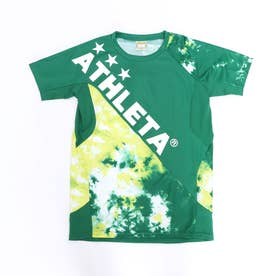 ジュニア サッカー/フットサル 半袖シャツ グラフィックプラシャツ 02346J (グリーン)
