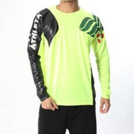 メンズ サッカー/フットサル 長袖シャツ カラープラクティスシャツ 02308
