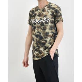 メンズ サッカー/フットサル 半袖シャツ グラフィックメッシュプラT BR0201