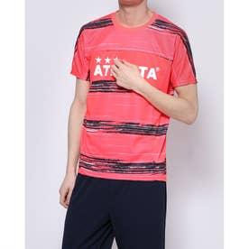 メンズ サッカー/フットサル 半袖シャツ ボーダープラクティスシャツ 02332