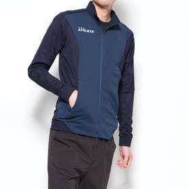 メンズ サッカー/フットサル フルジップ トレーニングジャガードメッシュジャケット REI-1087
