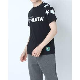 メンズ サッカー/フットサル 半袖シャツ ビッグロゴTシャツ 03351 (ブラック)