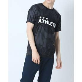 メンズ サッカー/フットサル 半袖シャツ プラクティスシャツ 02343 (ブラック)
