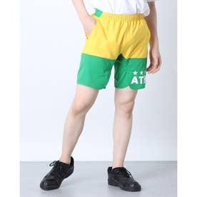 メンズ サッカー/フットサル パンツ ポケ付きプラクティスパンツ 02345 (グリーン)