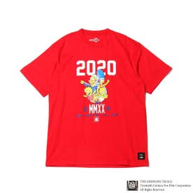 x THE SIMPSONS 2020 FAMILY TEE (RED)
