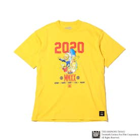 x THE SIMPSONS 2020 FAMILY TEE (YELLOW)