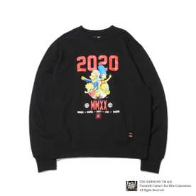 x THE SIMPSONS 2020 FAMILY CRE (BLACK)