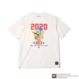 x THE SIMPSONS 2020 FAMILY TEE (WHITE)