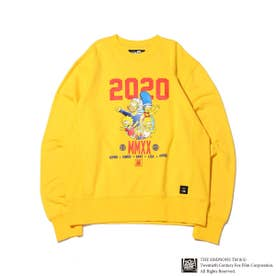 x THE SIMPSONS 2020 FAMILY CRE (YELLOW)