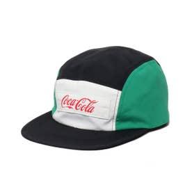 COCA-COLA BY PANEL CAMP CAP (BLACK)