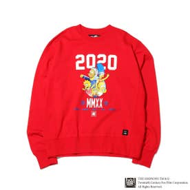 x THE SIMPSONS 2020 FAMILY CRE (RED)
