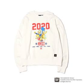 x THE SIMPSONS 2020 FAMILY CRE (WHITE)