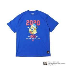 x THE SIMPSONS 2020 FAMILY TEE (ROYAL)