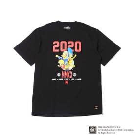 x THE SIMPSONS 2020 FAMILY TEE (BLACK)