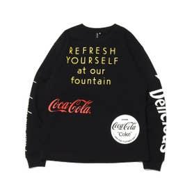 COCA-COLA BY DRINK DELICIOUS LS TEE (BLACK)