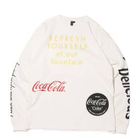 COCA-COLA BY DRINK DELICIOUS LS TEE (WHITE)