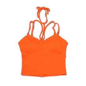 YURIMOS NECK POINT RIB CAMISO (ORANGE)
