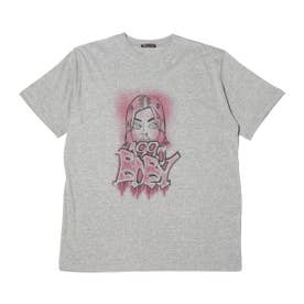 RIEHATA × graphic art tee (GRAY)