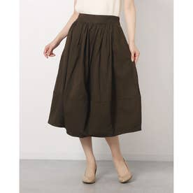 ツイルバルーンスカート (KHAKI)